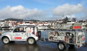 Sprossa på Norgesturne - med bil og henger